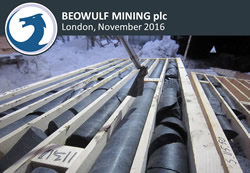 Beowulf Mining plc November 2016 Corporate Presentation