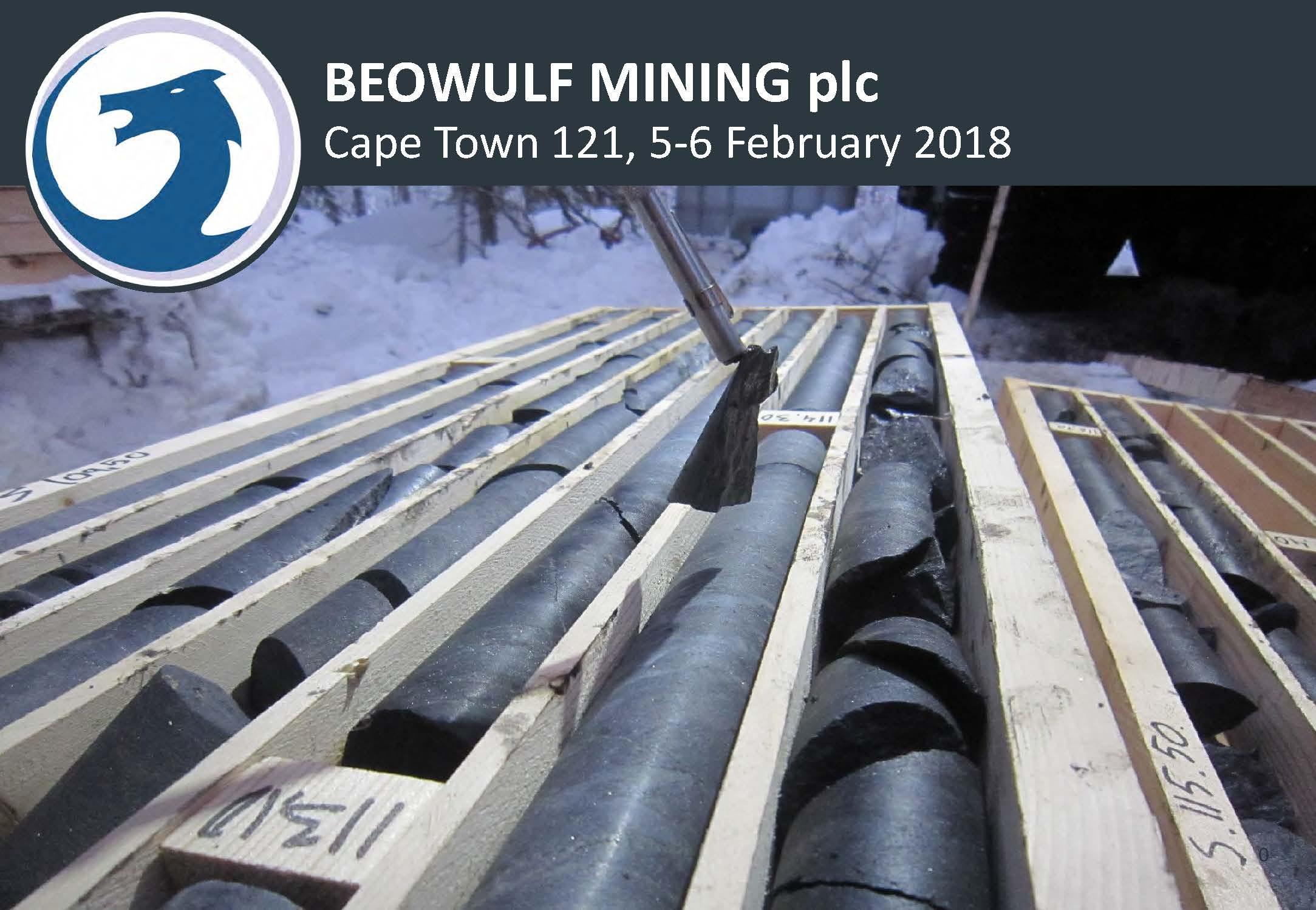 Beowulf Mining plc Corporate Presentation Feb 2018